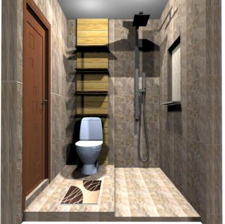 Kamar Mandi Sharing Oleh SMarchdesign12