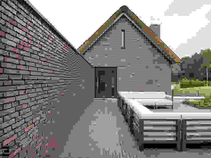 Zijgevel Moderne huizen van Geert van den Oetelaar . Architect Modern