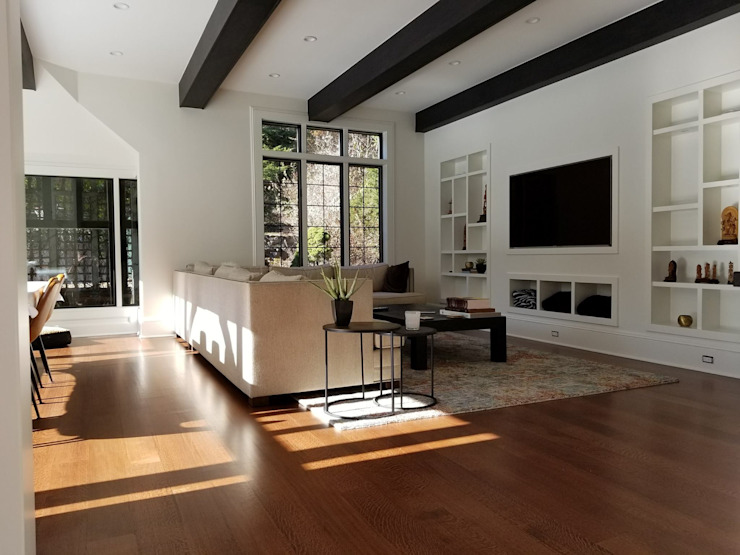 Shine Star Flooring Soggiorno moderno