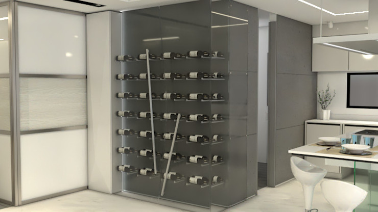 Modern wine cellar by Pro Escala Arquitectos SAS Modern