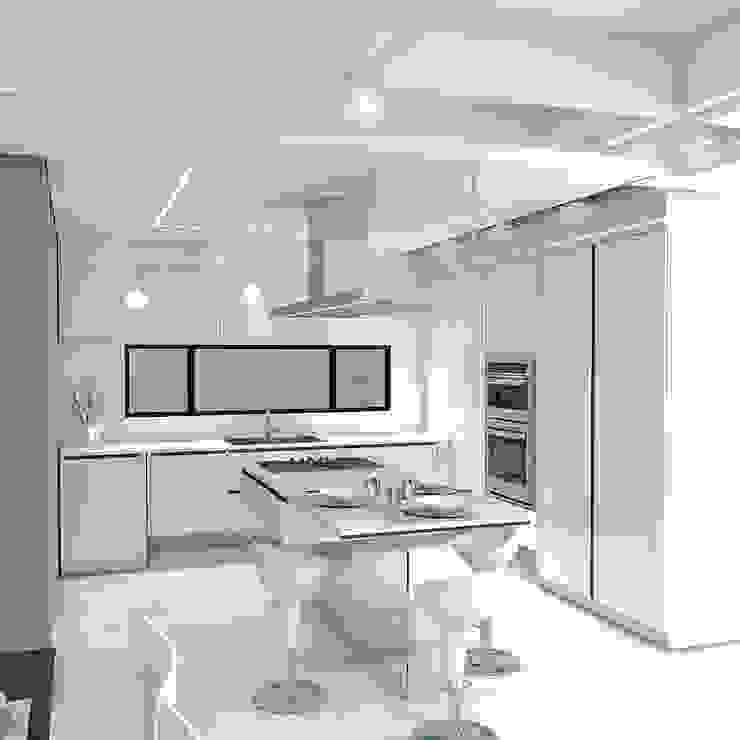 Remodelación Apartamento Montoya de Pro Escala Arquitectos SAS Moderno
