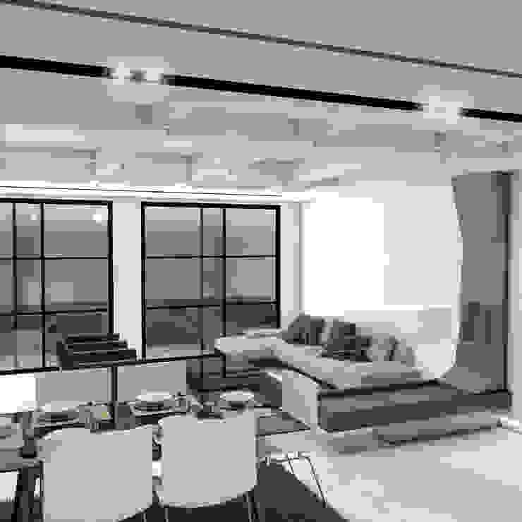 Modern living room by Pro Escala Arquitectos SAS Modern