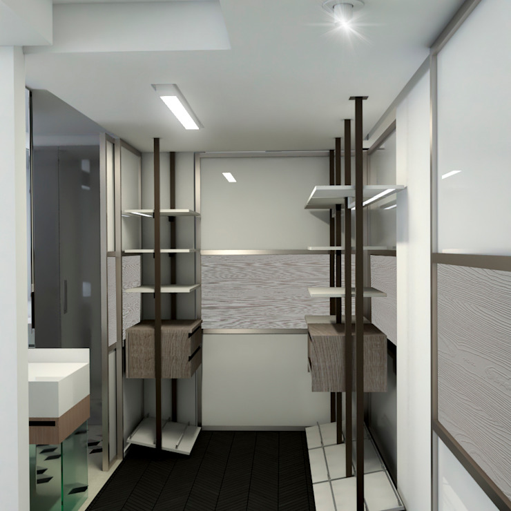 Dressing room by ProEscala- Arquitectos, Modern
