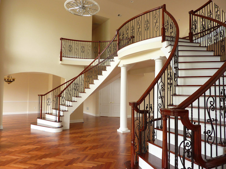 Mahogany Floors Shine Star Flooring Stairs