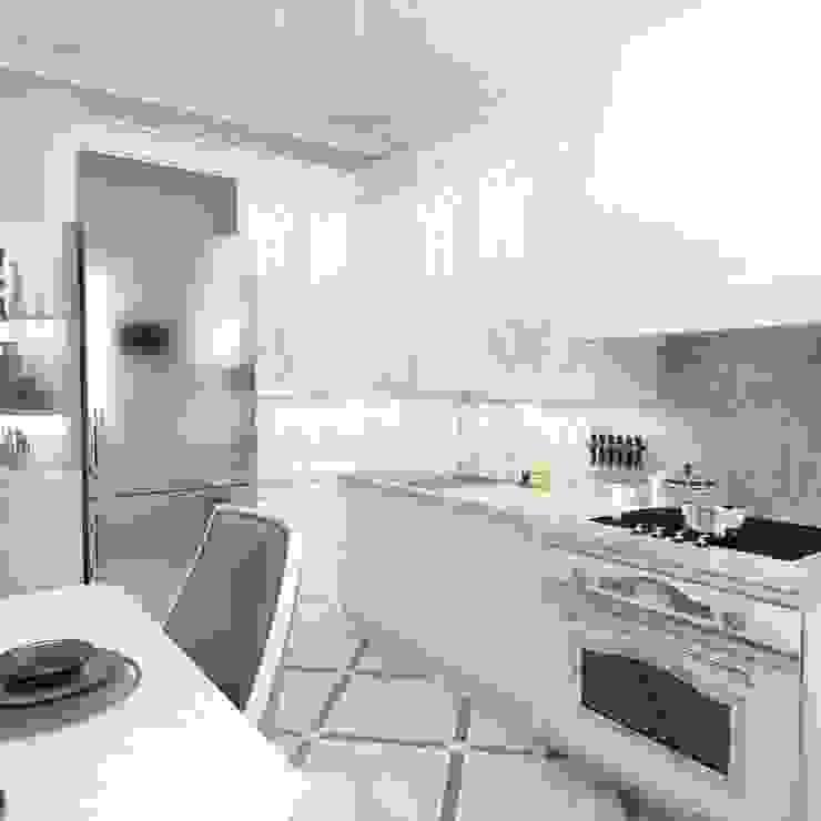Квартира 66 кв.м: Кухни в . Автор – owndesign,