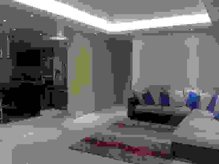 salas Salas modernas de HoaHoa Espacios SAS Moderno Derivados de madera Transparente
