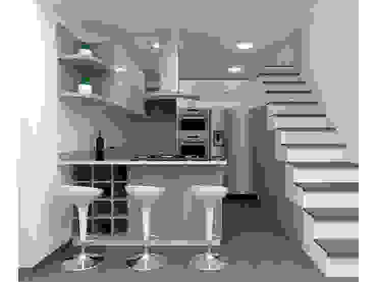 Cocina de HoaHoa Espacios SAS Moderno Derivados de madera Transparente