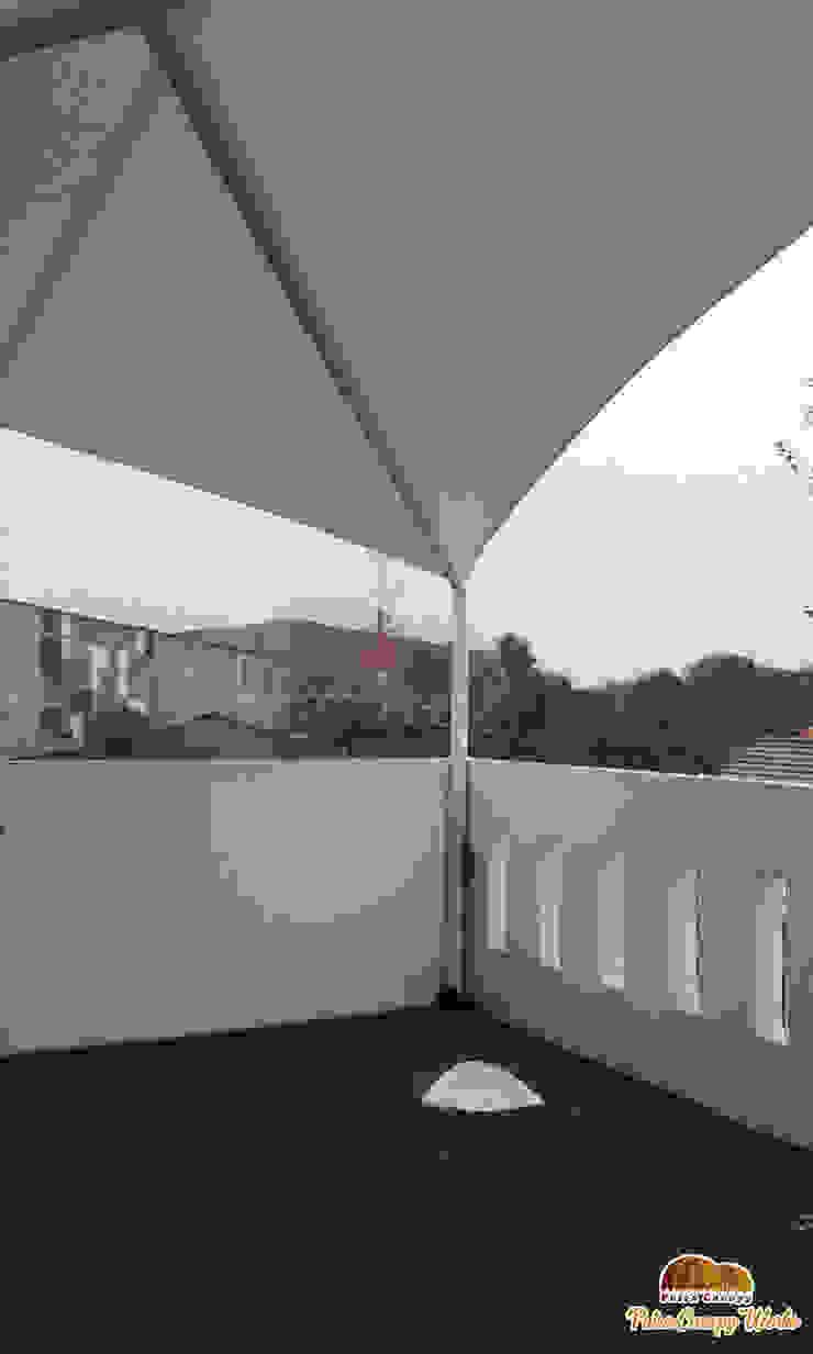 Tenda Membrane Jakarta :modern  oleh Putra Canopy, Modern Bahan Sintetis Brown