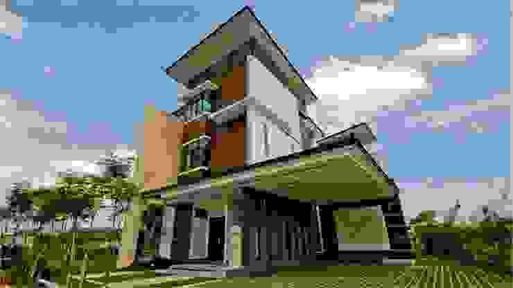 Lot. 18 House Modern houses by Arkitek Axis Modern