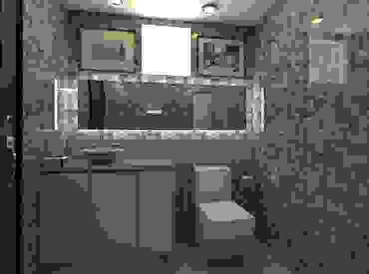 Casa Alexandria Bathroom 1 Mediterranean style bathrooms by Constantin Design & Build Mediterranean