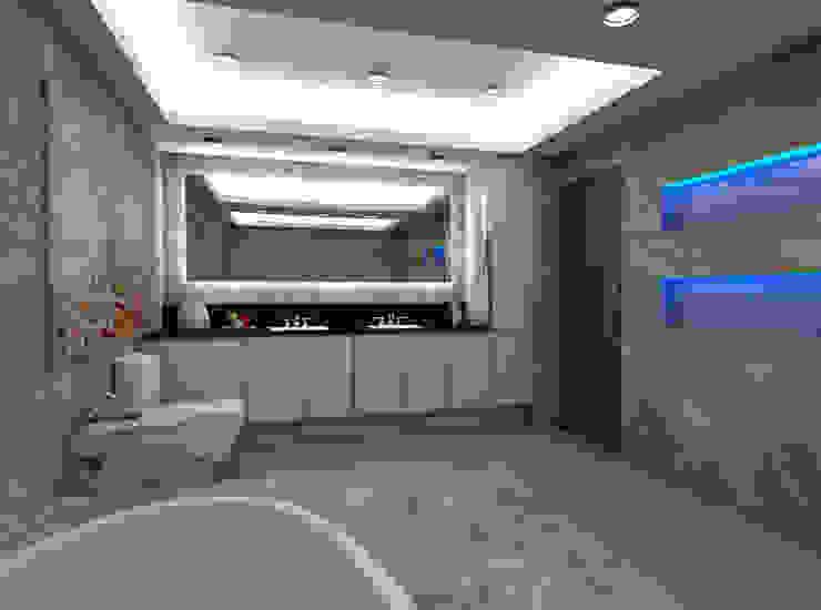 Casa Alexandria's Master's Bathroom Mediterranean style bathrooms by Constantin Design & Build Mediterranean
