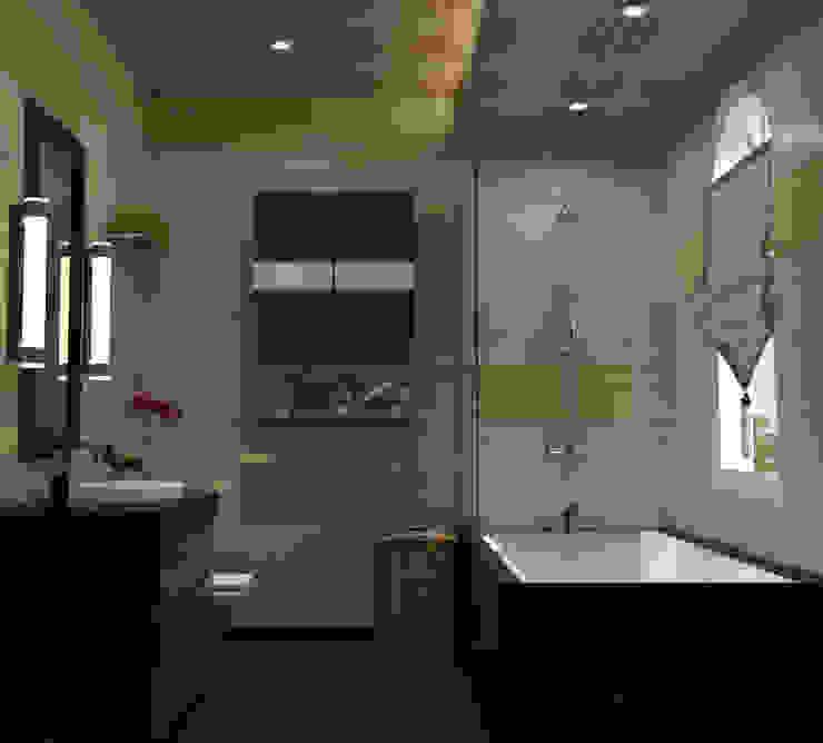 Chateau de Boudreault Guest Bathroom Mediterranean style bathrooms by homify Mediterranean