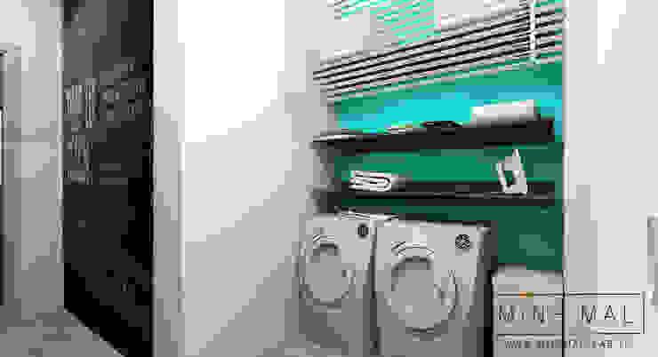 Lavanderia MINIMAL   Laboratorio d'Interni Bagno minimalista