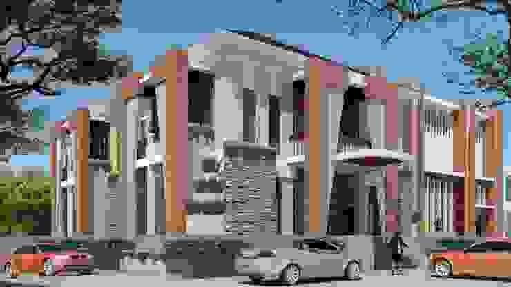 Aula-Kantor-Rumah Tinggal Ruang Komersial Modern Oleh PDA Arsitek Modern
