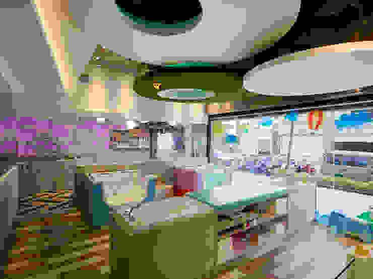 親子SPA會館 根據 呂俐錡設計有限公司 現代風