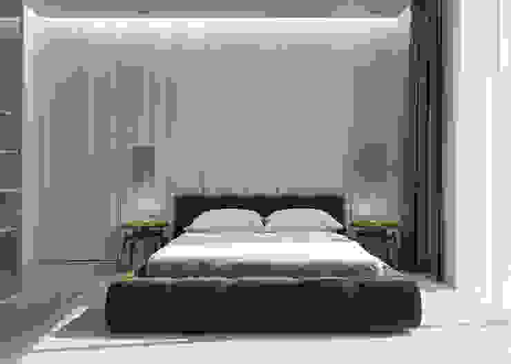 Modern style bedroom by fatih beserek Modern Wood-Plastic Composite