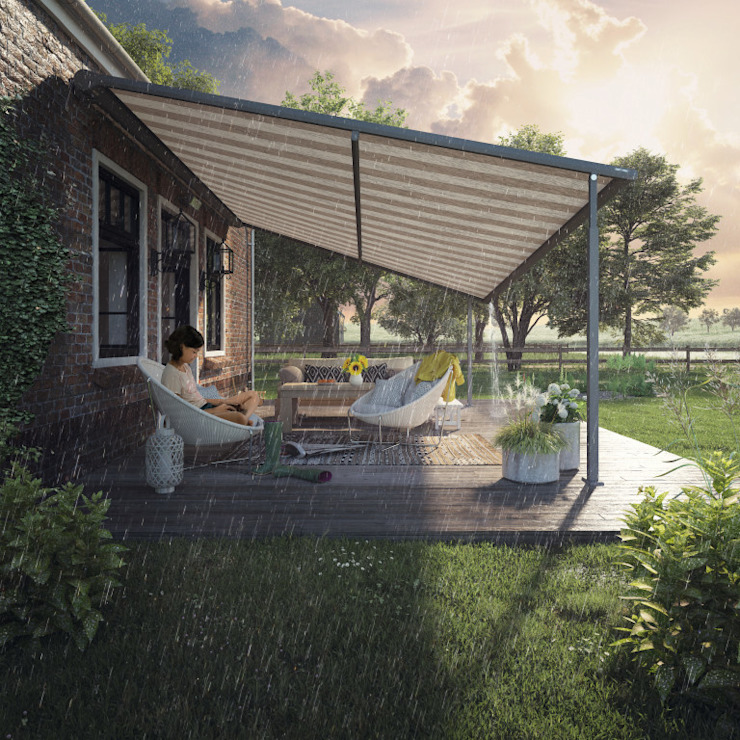 *NEW* Haus Pergola: modern  by Appeal Home Shading, Modern