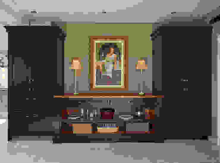 Audley | Georgian Country House Davonport ครัวบิลท์อิน Blue