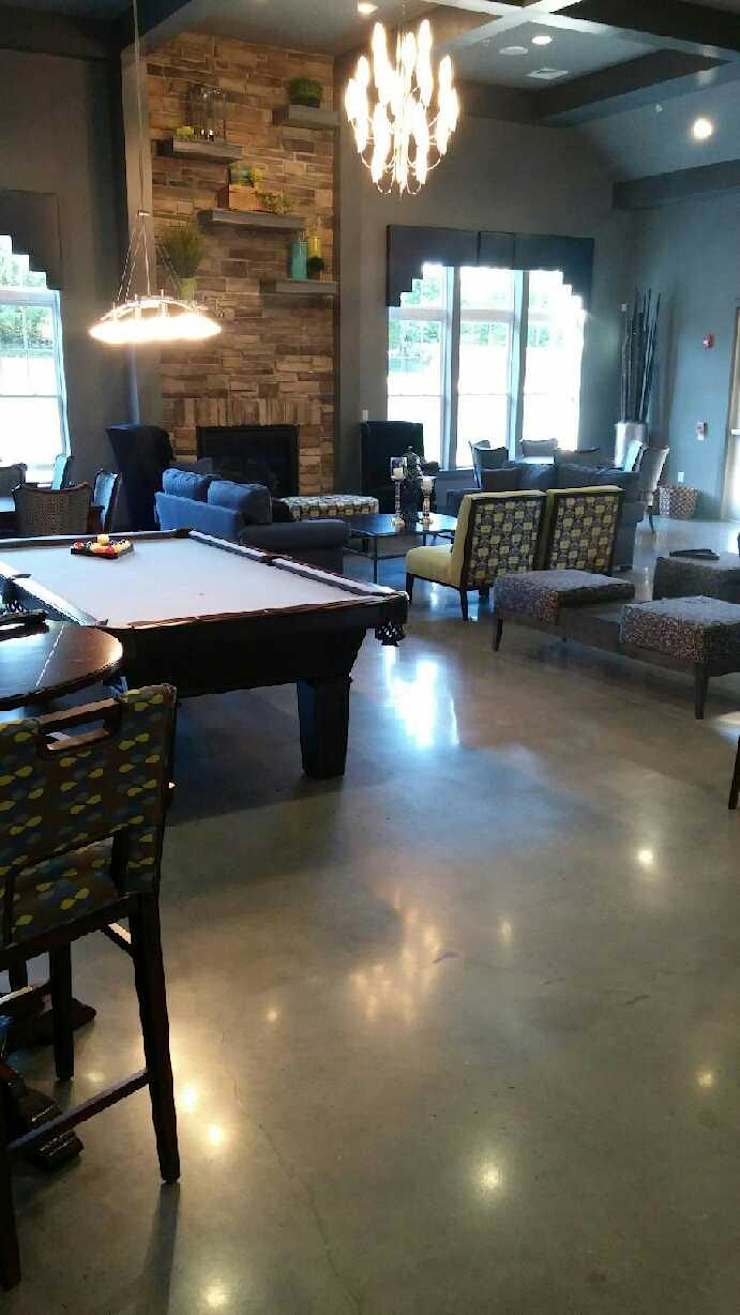 Polished Concrete—Country Club by Shine Star Flooring Modern