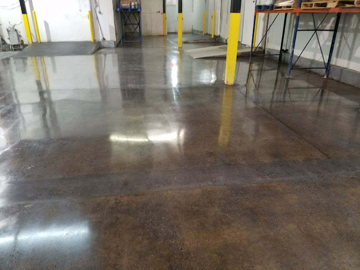 Polished Concrete—Hasbrouck Heights Commercial space by Shine Star Flooring Modern