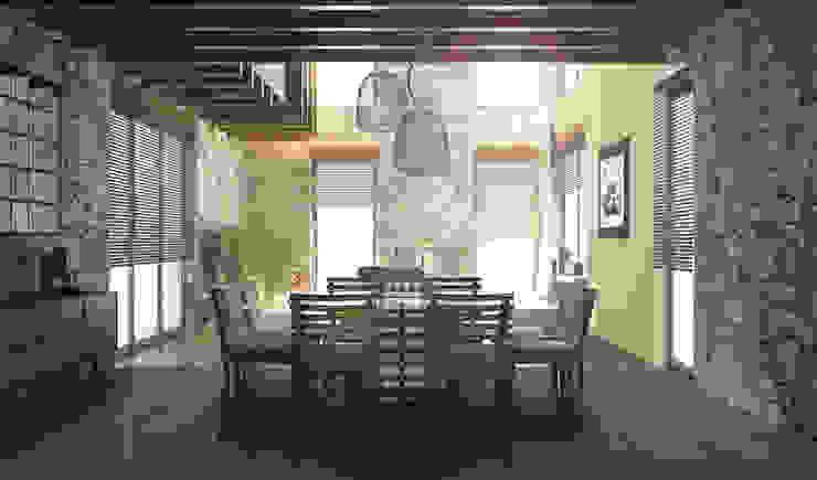 Casa en el Bosque - BCA Taller de Diseño Comedores de estilo moderno de BCA Taller de Diseño Moderno