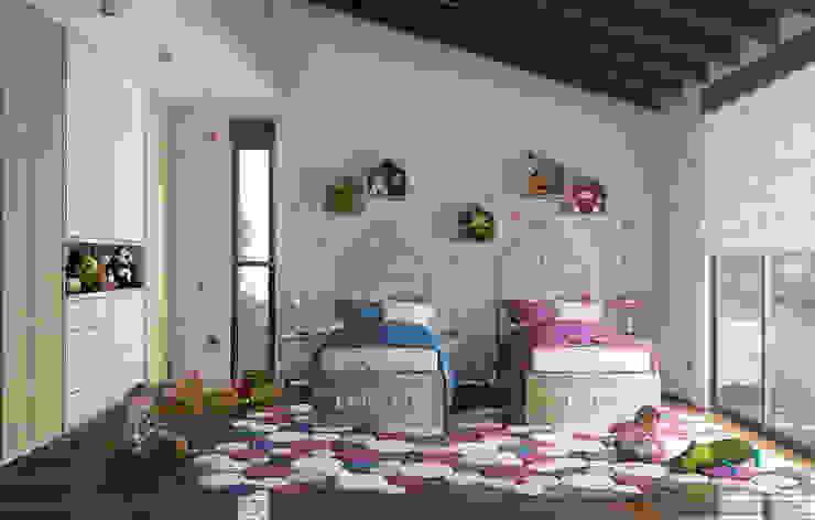 Casa en el Bosque - BCA Taller de Diseño Dormitorios infantiles de estilo moderno de BCA Taller de Diseño Moderno