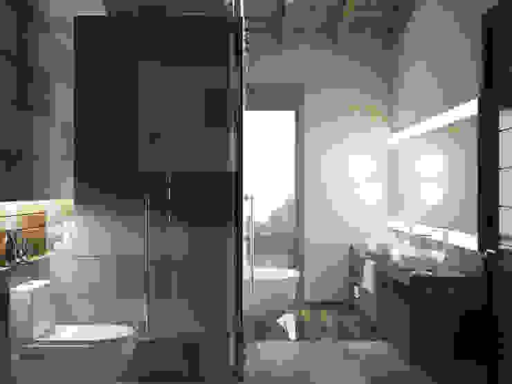 Casa en el Bosque - BCA Taller de Diseño Baños de estilo moderno de BCA Taller de Diseño Moderno