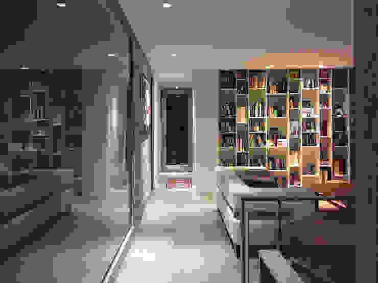 CREA CONSTRUCTORA / Crespi + Ruiz Arqs Modern living room