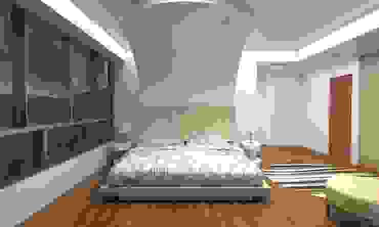 Diseño Mobiliario Habitacion Principal Cuartos de estilo moderno de Arq. Barbara Bolivar Moderno Madera Acabado en madera