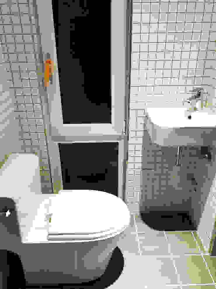 부산 이동주택 '6평 단층 마룸' 미니멀리스트 욕실 by 마룸 미니멀