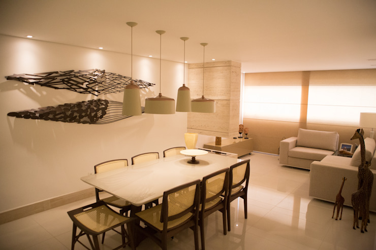 realizearquiteturaS Modern dining room