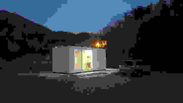 부산 이동주택 '6평 단층 마룸' 미니멀리스트 주택 by 마룸 미니멀