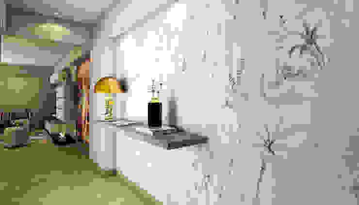 Modern corridor, hallway & stairs by Luis Escobar Interiorismo Modern