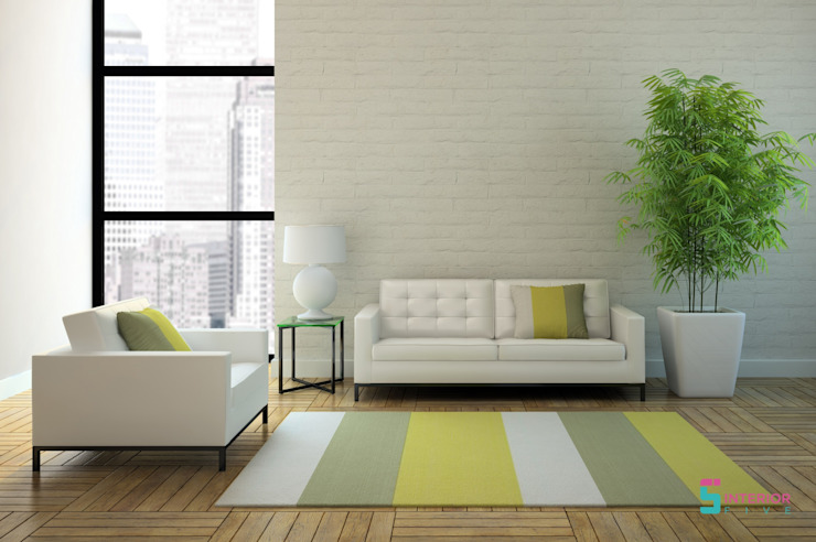 Asian style living room by homify Asian