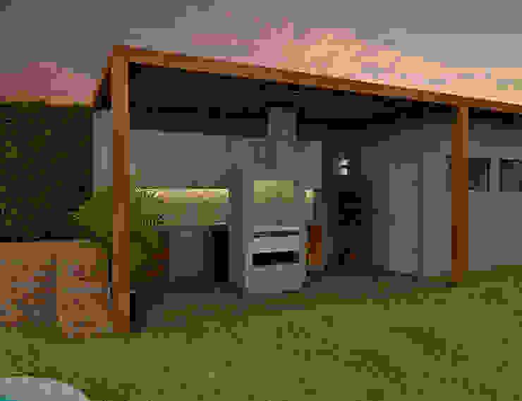 Proyecto ED Cocinas de estilo moderno de Luis Escobar Interiorismo Moderno