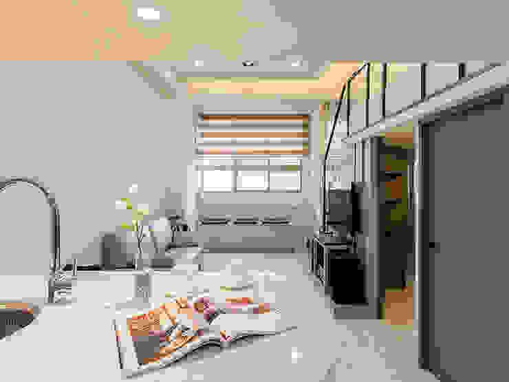 時尚挑高設計巧宅 根據 好室佳室內設計