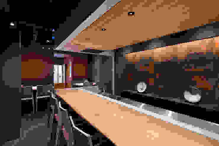 カウンター の 株式会社 藤本高志建築設計事務所