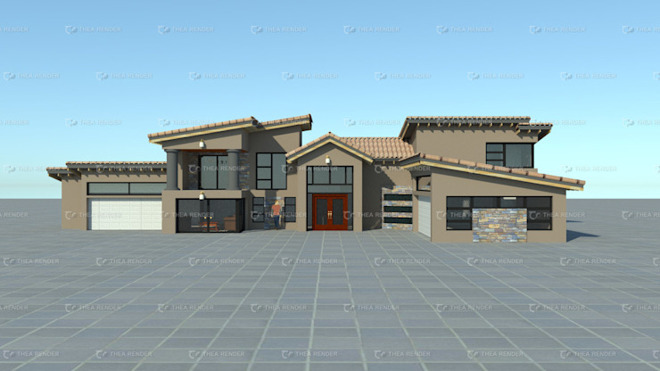 contemporary house design by COMFORT MAYINGANI ARCHTECTZ