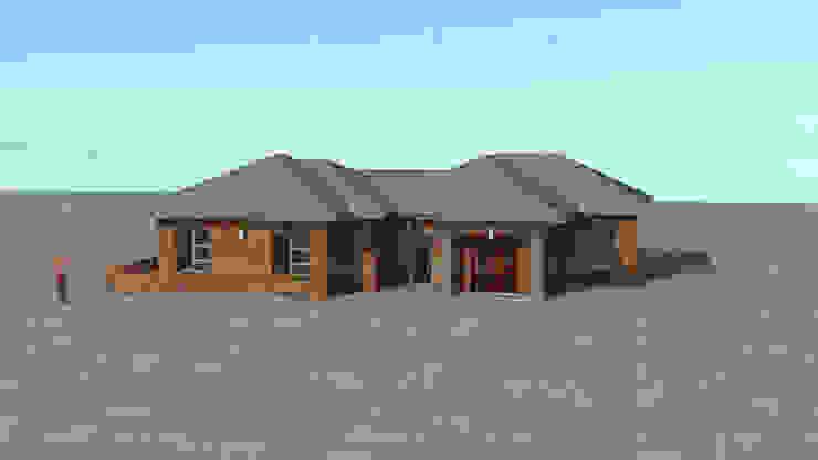 redbrick house design by COMFORT MAYINGANI ARCHTECTZ