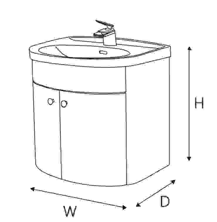 尺寸標示: 現代  by 綋宜實業有限公司, 現代風 塑木複合材料