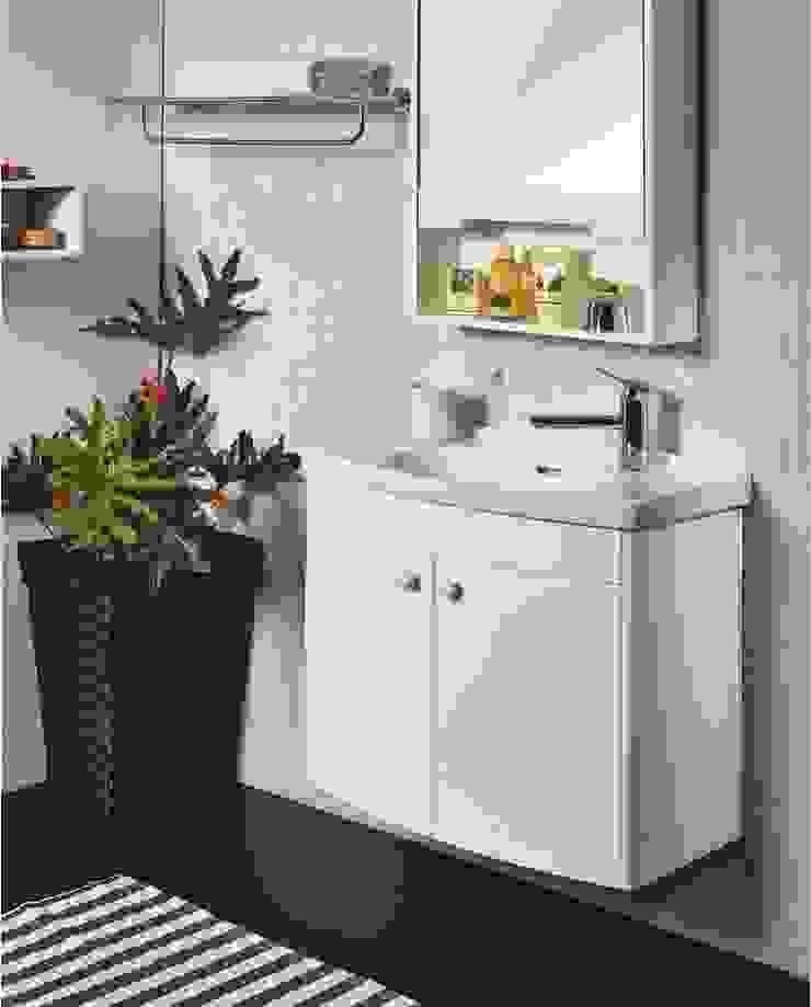 浴室櫃: 現代  by 綋宜實業有限公司, 現代風 塑木複合材料