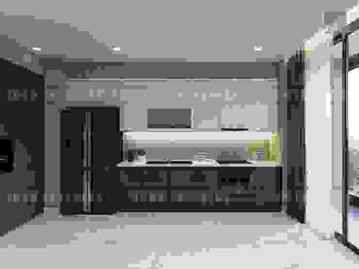 Vinhomes Golden River – Aqua 3 Nhà bếp phong cách hiện đại bởi ICON INTERIOR Hiện đại