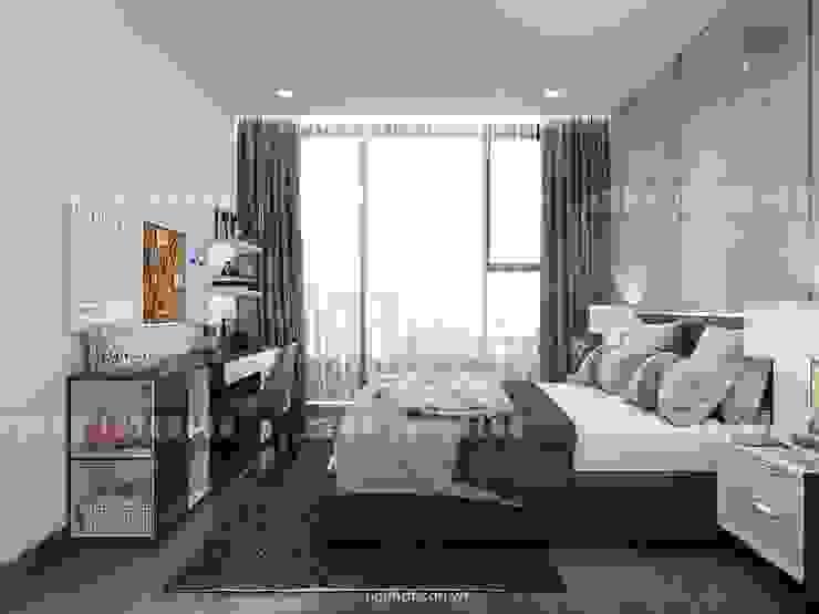 Vinhomes Golden River – Aqua 3 Phòng ngủ phong cách hiện đại bởi ICON INTERIOR Hiện đại