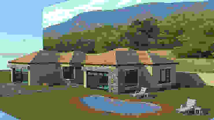 MORDEN DESIGN CONCRETE HOUSE SLAB HOUSE by COMFORT MAYINGANI ARCHTECTZ