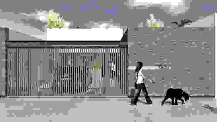 Nueva fachada de SBG Estudio Moderno