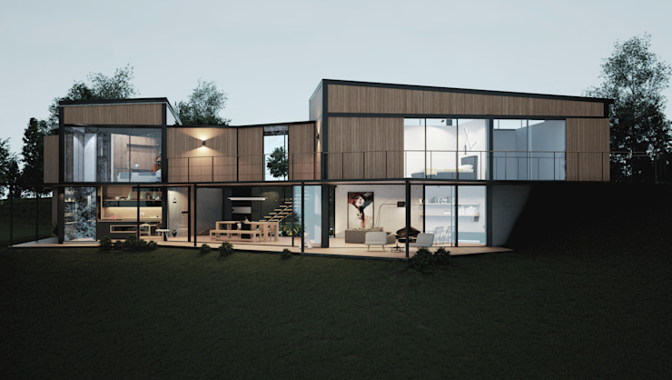 Adrede Diseño Country house Wood Wood effect