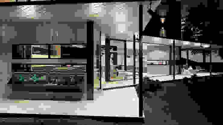 Adrede Diseño Modern Terrace Wood Wood effect