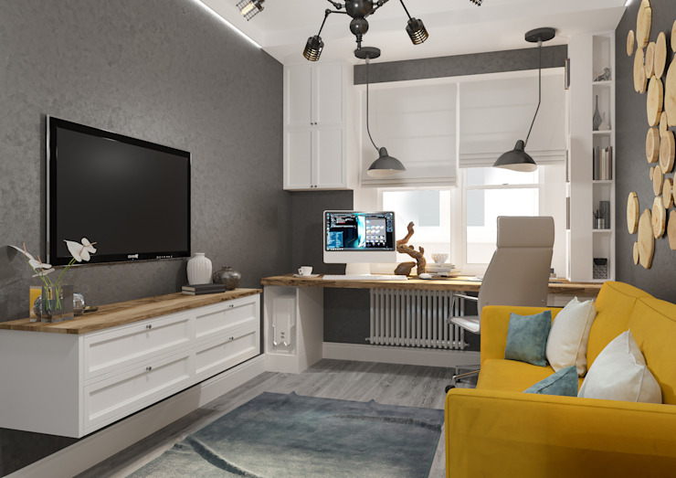 Modern style study/office by Вира-АртСтрой Modern