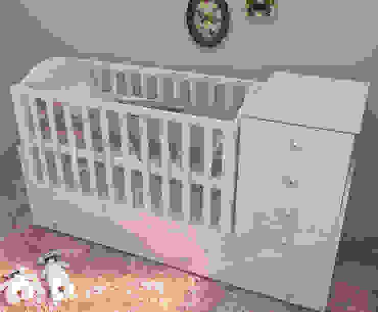 Shabby Chic Nursery Room Oleh Lavani Interior Klasik Kayu Wood effect