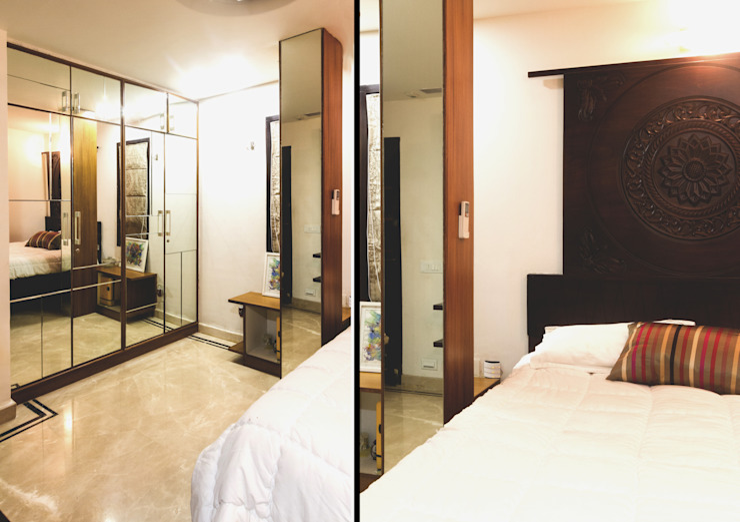CASA SONAS Modern style bedroom by CARTWHEEL Modern